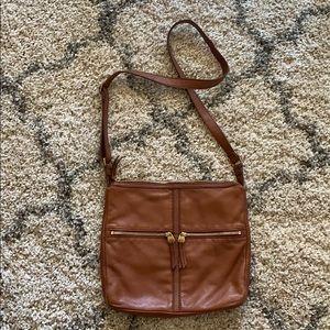 Fossil Crossbody Brown Bag